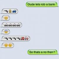 Haha. Funny.